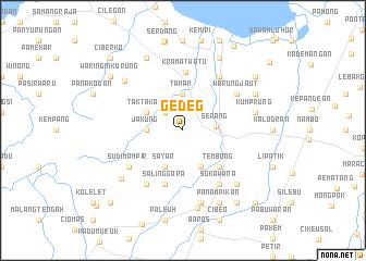 map of Gedeg