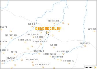 map of Gedongdalem