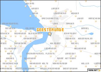 Geestemunde Germany Map Nona Net