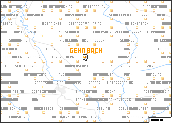 map of Gehnbach
