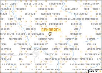 map of Gehnbach