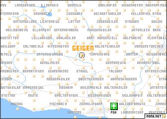 map of Geigen