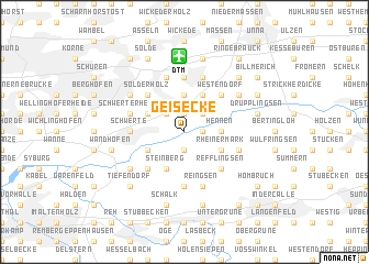 map of Geisecke