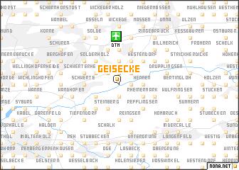 map of Geisecke