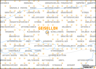 map of Geiselloh