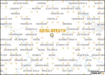 map of Geislareuth