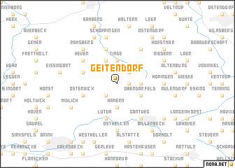 map of Geitendorf