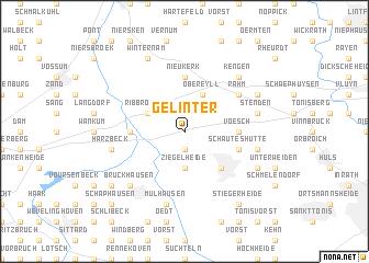map of Gelinter