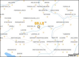 map of Gello