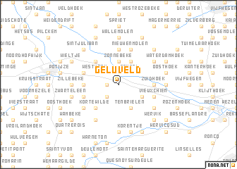map of Geluveld