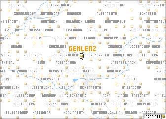 map of Gemlenz