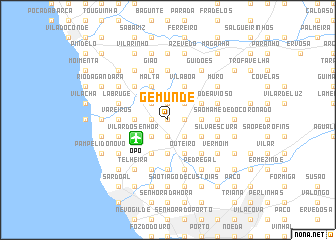 map of Gemunde