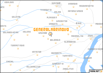 map of General-Marinovo