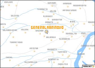 map of General-Marinovo