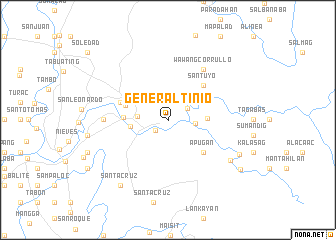 map of General Tinio