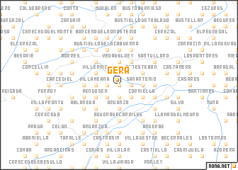 map of Gera