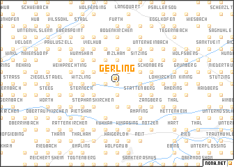 map of Gerling