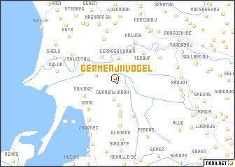 map of Gërmenji i Vogël