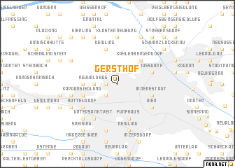 map of Gersthof