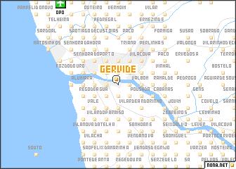 map of Gervide