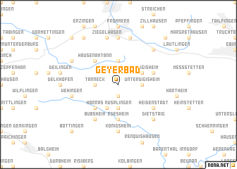 map of Geyerbad