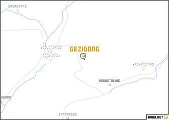 map of Gezidong