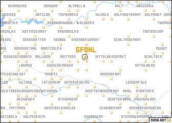 map of Gföhl