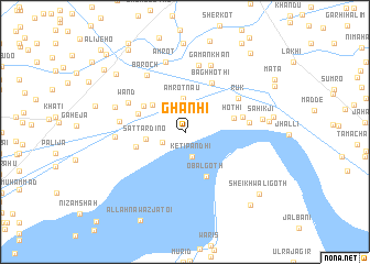 map of Ghanhi