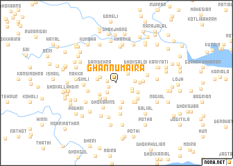 map of Ghannu Maira