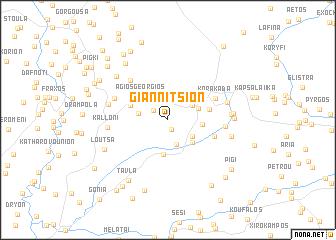 map of Giannítsion