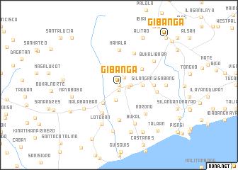 map of Gibañga