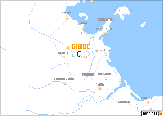 map of Gibioc