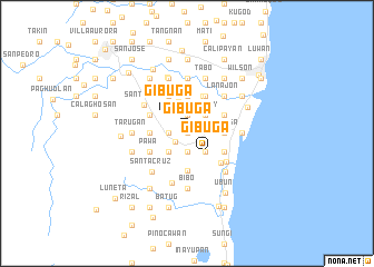 map of Gibuga