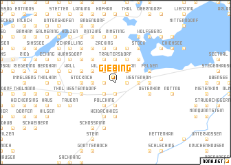 map of Giebing