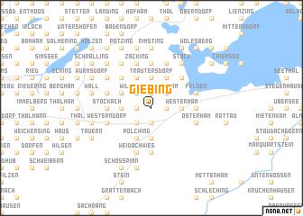 map of Giebing