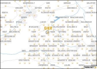 map of Gier