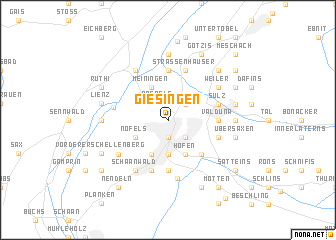 map of Giesingen