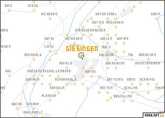 map of Giesingen