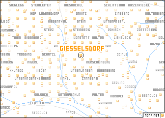 map of Giesselsdorf