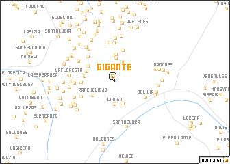 map of Gigante