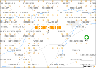 map of Giggenhausen