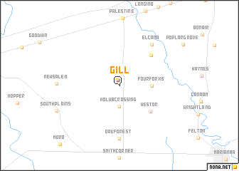 map of Gill