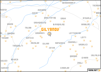 map of Gilyanov