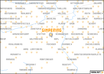map of Gimpering