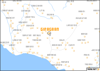 map of Giragaan