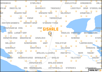 map of Gishale