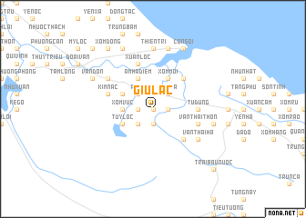 map of Giu Lạc