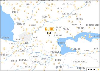 map of Gjoc