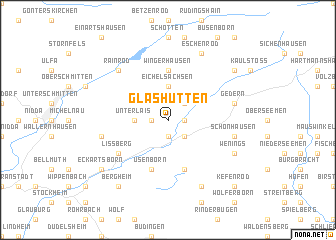 map of Glashütten