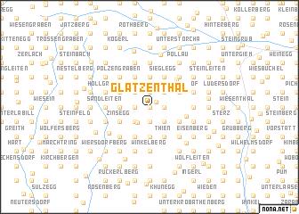 map of Glatzenthal